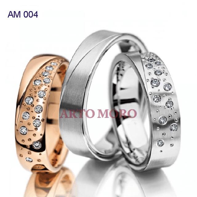 Jual Cincin Kawin Emas Berlian Perak Couple